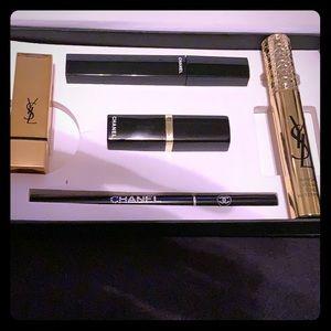 Chanel and ysl makeup set